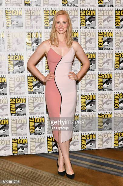 "Actress Deborah Ann Woll at Marvel's ""The Defenders"" Press Line during Comic-Con International 2017 at Hilton Bayfront on July 21, 2017 in San Diego,..."