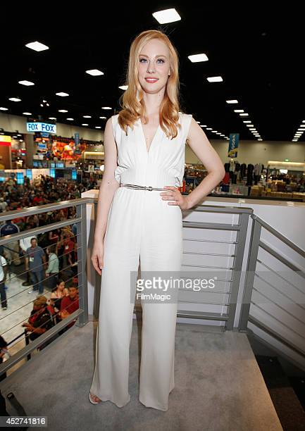 Actress Deborah Ann Woll attends HBO's 'True Blood' cast autograph signing during ComicCon 2014 on July 26 2014 in San Diego California