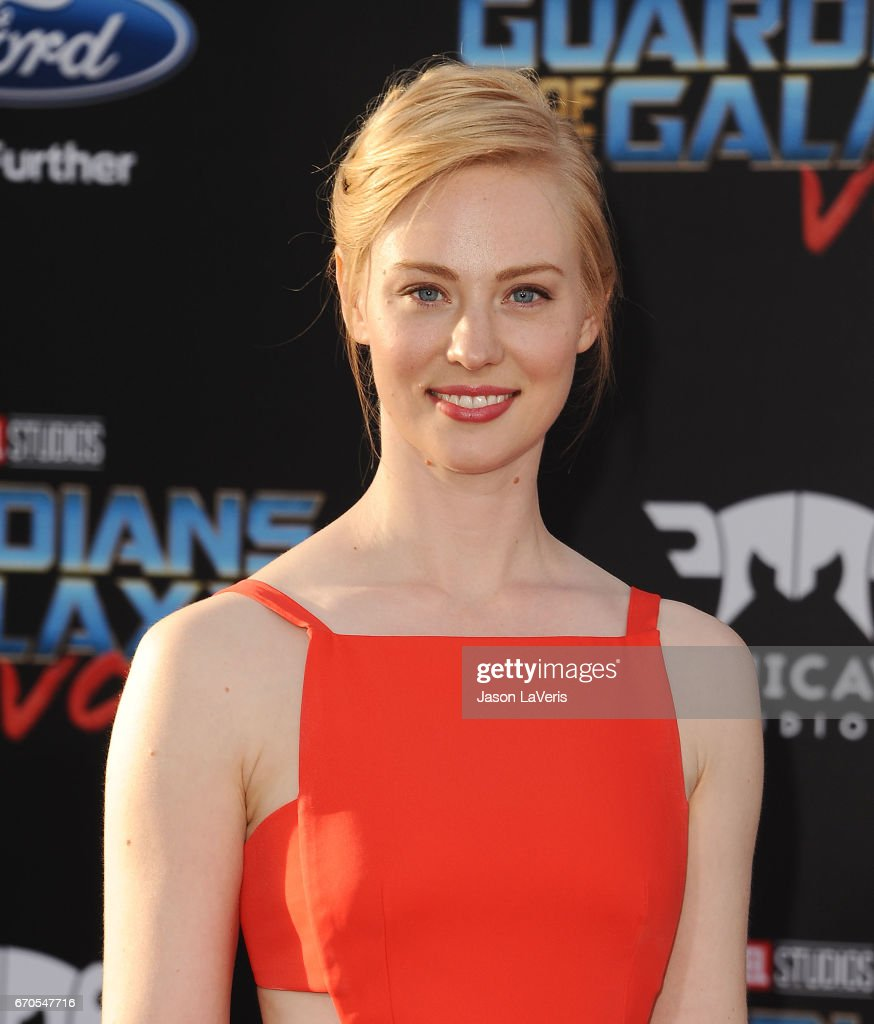Actress Deborah Ann Woll attends the premiere of 'Guardians of the Galaxy Vol. 2' at Dolby Theatre on April 19, 2017 in Hollywood, California.
