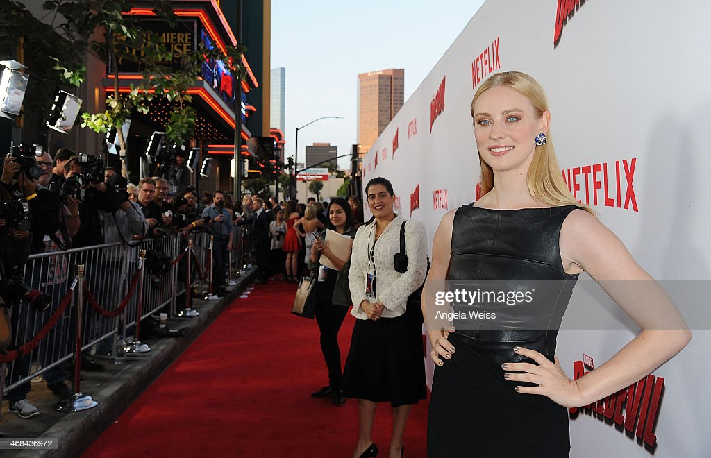 "Premiere Of Netflix's ""Marvel's Daredevil"" - Red Carpet"