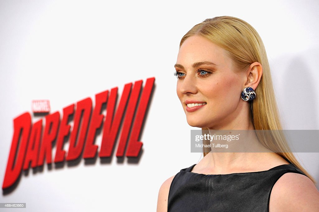 "Premiere Of Netflix's ""Marvel's Daredevil"" - Arrivals : News Photo"
