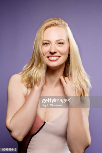 "Actress Deborah Ann Woll from the television series ""Marvel's The Punisher,"" is photographed in the L.A. Times photo studio at Comic-Con 2017, in San..."