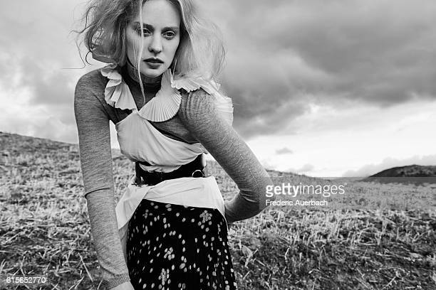 Actress Deborah Ann Woll is photographed for Contentmode Magazine on May 6, 2016 in Los Angeles, California. PUBLISHED IMAGE.