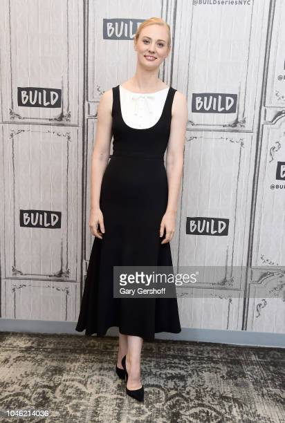 Actress Deborah Ann Woll visits Build Series to discuss the Netflix series 'Daredevil' at Build Studio on October 5, 2018 in New York City.