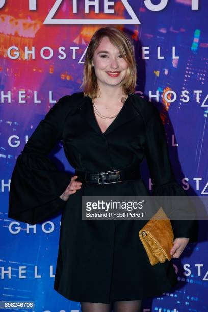 Actress Deborah Francois attend the Paris Premiere of the Paramount Pictures release 'Ghost in the Shell' Held at Le Grand Rex on March 21 2017 in...