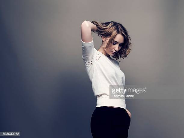 Actress Deborah Francois is photographed for Self Assignment on November 20 2012 in Paris France