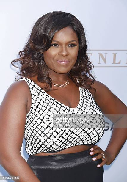Actress Deborah Joy Winans arrives at the premiere of OWN's 'Greenleaf' at The Lot on June 15 2016 in West Hollywood California
