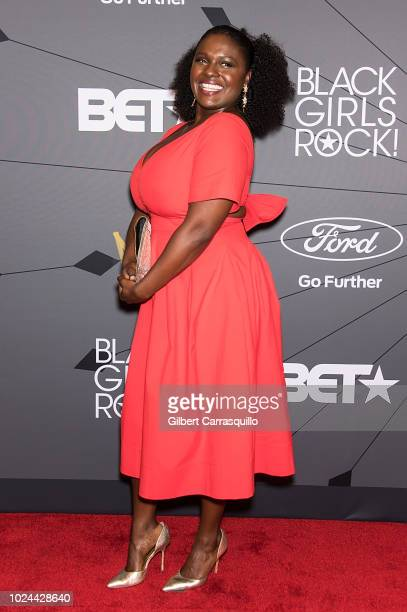 Actress Deborah Joy Winans attends 2018 Black Girls Rock at New Jersey Performing Arts Center on August 26 2018 in Newark New Jersey