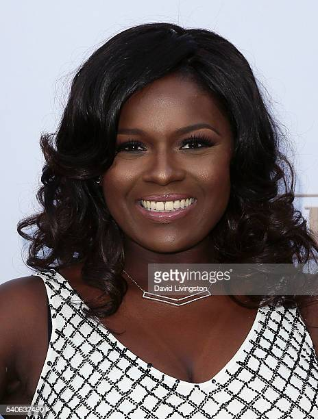 Actress Deborah Joy Winans attends the premiere of OWN's Greenleaf at The Lot on June 15 2016 in West Hollywood California