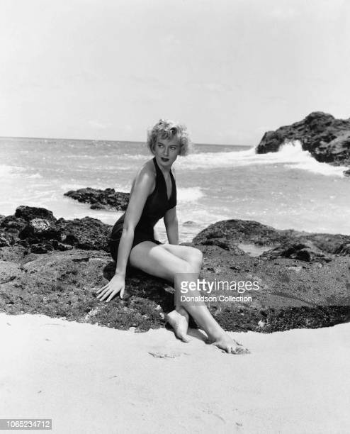 Actress Deborah Kerr in a scene from the movie From Here to Eternity