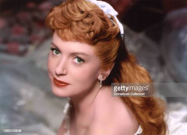 """Actress Deborah Kerr in a scene from the movie """"The King and I"""""""