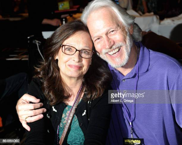 Actress Deborah Van Valkenburgh and actor Michael Beck from 'The Warriors' at The Hollywood Show held at Westin LAX Hotel on October 21 2017 in Los...