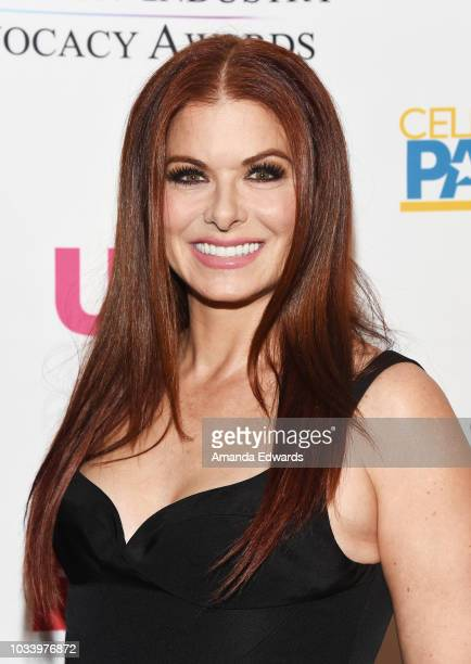 Actress Debra Messing arrives at 2018 Television Advocacy Awards Benefiting The Creative Coalition at the Sofitel Los Angeles at Beverly Hills on...