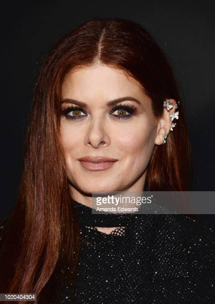 Actress Debra Messing arrives at a screening of Stage 6 Films' Searching at ArcLight Hollywood on August 20 2018 in Hollywood California