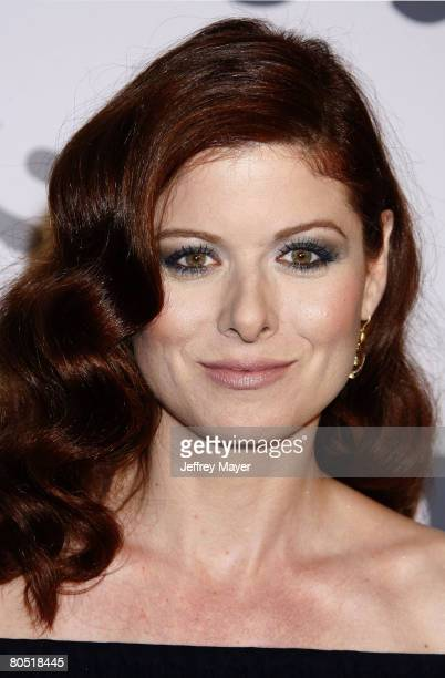 Actress Debra Messing arrives at Characters Welcome USA Network celebrates it's Lineup of Stars on April 3 2008 at CRAFT in Century City California