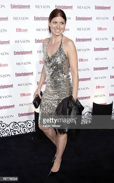 Actress Debra Messing arrives at Entertainment Weekly's 5th Annual Pre-Emmy Party at Opera and Crimson on September 15, 2007 in Los Angeles,...