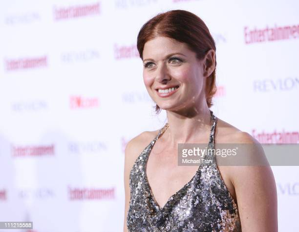 Actress Debra Messing arrives at the Entertainment Weekly's 5th Annual Pre-Emmy Party at Opera and Crimson on September 15, 2007 in Hollywood,...