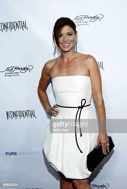 Actress Debra Messing arrives to the Los Angeles Confidential Magazine Annual Pre-Emmy Party on September 17, 2009 in Belair, California.