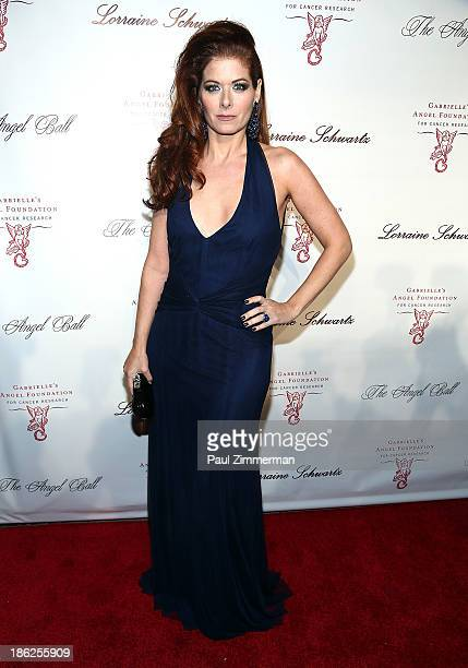 Actress Debra Messing attends Angel Ball 2013 at Cipriani Wall Street on October 29 2013 in New York City