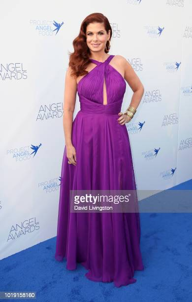 Actress Debra Messing attends Project Angel Food's 28th Annual Angel Awards at Project Angel Food on August 18 2018 in Los Angeles California