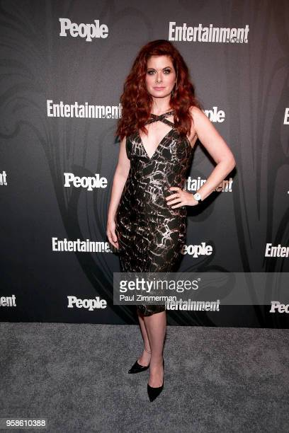 Actress Debra Messing attends the 2018 Entertainment Weekly PEOPLE Upfront at The Bowery Hotel on May 14 2018 in New York City
