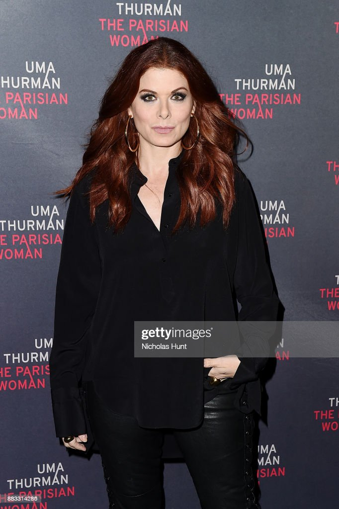 Actress Debra Messing attends the broadway opening night of 'The Parisian Woman' at The Hudson Theatre on November 30, 2017 in New York City.