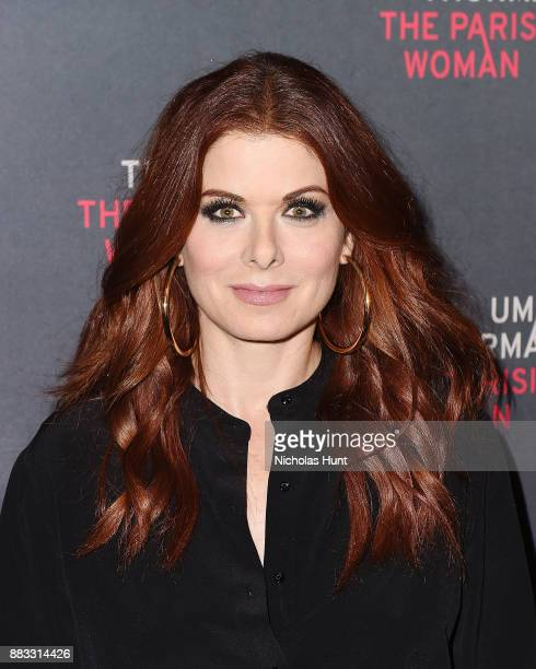 Actress Debra Messing attends the broadway opening night of The Parisian Woman at The Hudson Theatre on November 30 2017 in New York City