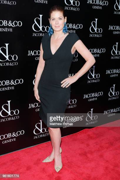 Actress Debra Messing attends the Jacob Co New York City Flagship Grand Reopening on April 26 2018 in New York City
