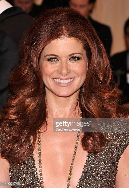 Actress Debra Messing attends the Schiaparelli And Prada Impossible Conversations Costume Institute Gala at the Metropolitan Museum of Art on May 7...