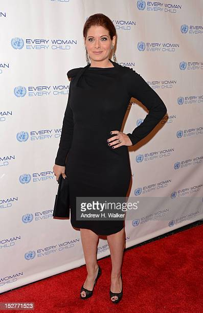 Actress Debra Messing attends United Nations Every Woman Every Child Dinner 2012 on September 25 2012 in New York United States