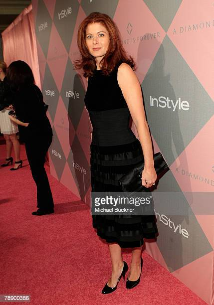 Actress Debra Messing during the Diamond Information Center and InStyle Diamond Fashion Show Preview Luncheon at the Beverly Hills Hotel on January...