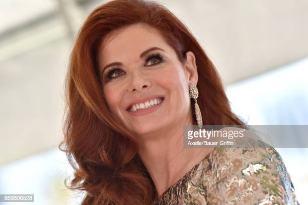 Actress Debra Messing is honored with star on the Hollywood Walk of Fame on October 6 2017 in Hollywood California