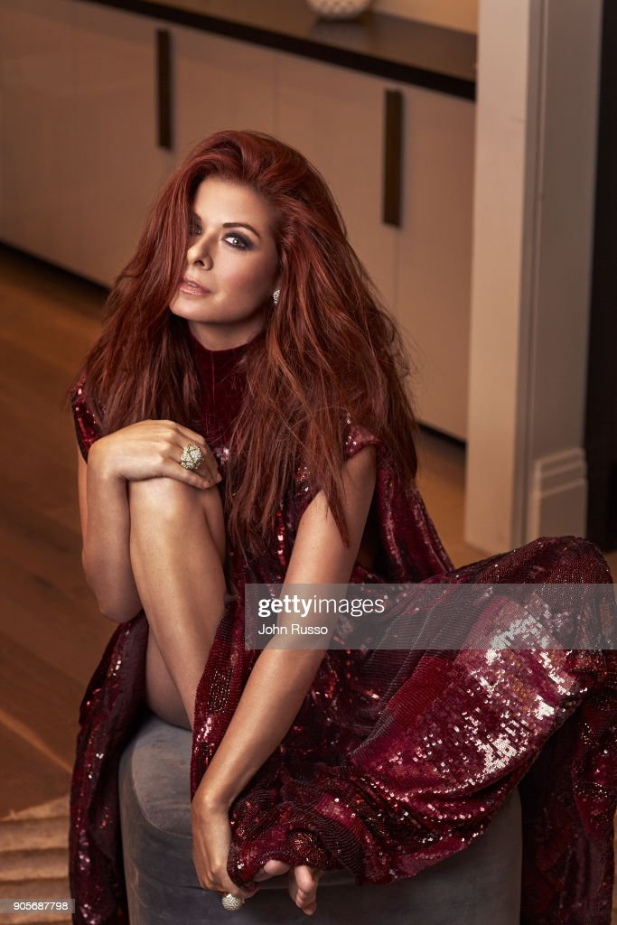Actress Debra Messing is photographed for New York Post's Alexa on November 11, 2017 in Los Angeles, California. PUBLISHED