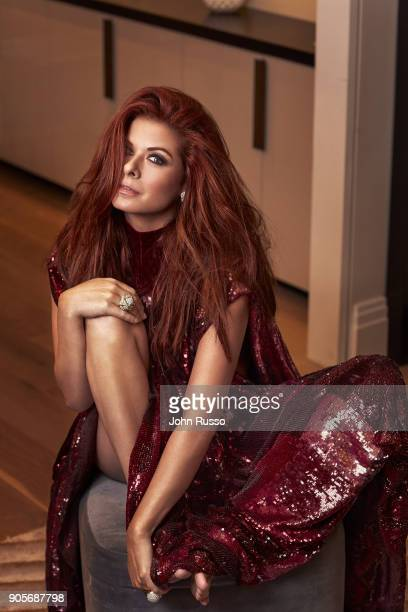 Actress Debra Messing is photographed for New York Post's Alexa on November 11 2017 in Los Angeles California PUBLISHED IMAGE