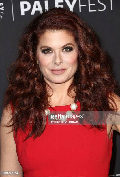 Actress Debra Messing of the television show 'Will Grace' attends The Paley Center for Media's 35th Annual PaleyFest Los Angeles at the Dolby Theatre...