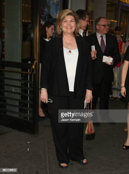 Actress Debra Monk attends the opening night of 'The Philanthropist' on Broadway at the Roundabout Theatre Company's American Airlines Theatre on...