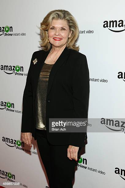 Actress Debra Monk attends the red carpet premiere screening of Amazon's Original Series Mozart in the Jungle at Alice Tully Hall at Lincoln Center...