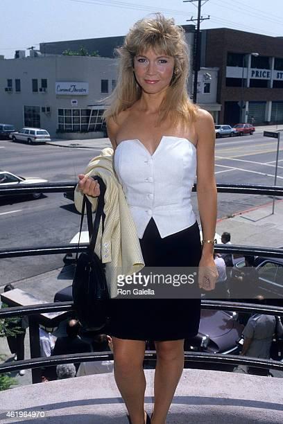 Actress Debra Sandlund attends the Third Annual IFP/West Independent Spirit Awards on April 9 1988 at Rosalie's Restaurant 385 N La Cienega Blvd in...