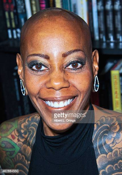 Actress Debra Wilson at the Second Annual David DeCoteau's Day Of The Scream Queens held at Dark Delicacies Bookstore on January 25, 2015 in Burbank,...