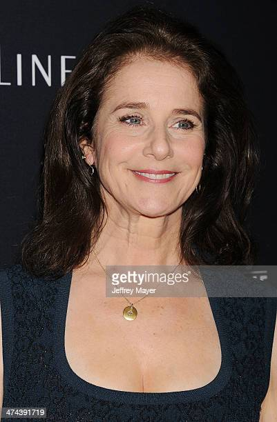 Actress Debra Winger arrives at the 16th Costume Designers Guild Awards at The Beverly Hilton Hotel on February 22 2014 in Beverly Hills California