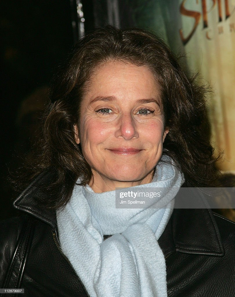 Actress Debra Winger arrives at the 'The Spiderwick Chronicles' Premiere at the AMC Lincoln Square on February 4, 2008 in New York City.