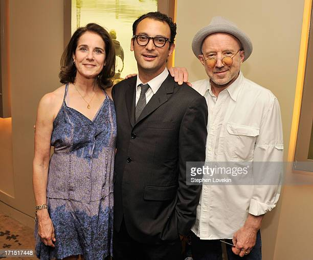 Actress Debra Winger director Josh Fox and actor Arliss Howard attend The HBO Special Screening Of Gasland Part II at HBO Theater on June 25 2013 in...