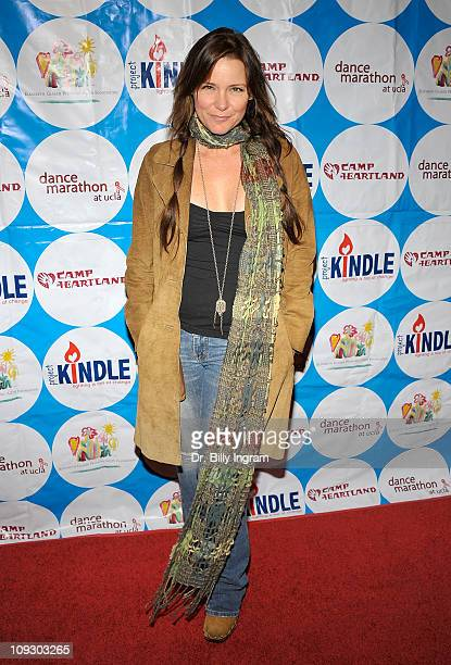 Actress DeDee Pfeiffer arrives at the UCLA Dance Marathon benefiting Pediatric AIDS Coalition at Ackerman Grand Ballroom on The UCLA Campus on...