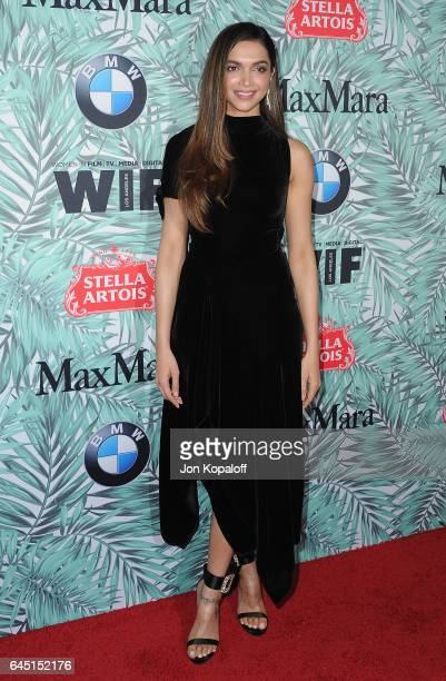 Actress Deepika Padukone arrives at the 10th Annual Women In Film PreOscar Cocktail Party at Nightingale Plaza on February 24 2017 in Los Angeles...