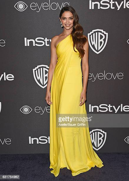 Actress Deepika Padukone arrives at the 18th Annual PostGolden Globes Party hosted by Warner Bros Pictures and InStyle at The Beverly Hilton Hotel on...