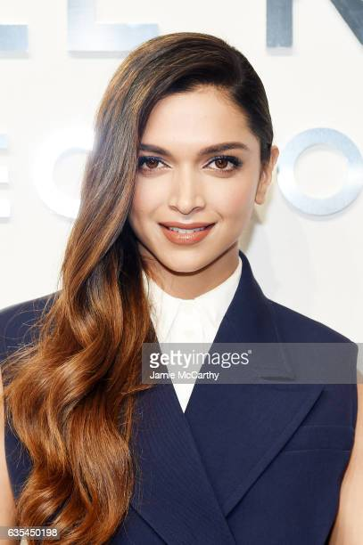 Actress Deepika Padukone attends the Michael Kors Collection Fall 2017 runway show at Spring Studios on February 15 2017 in New York City