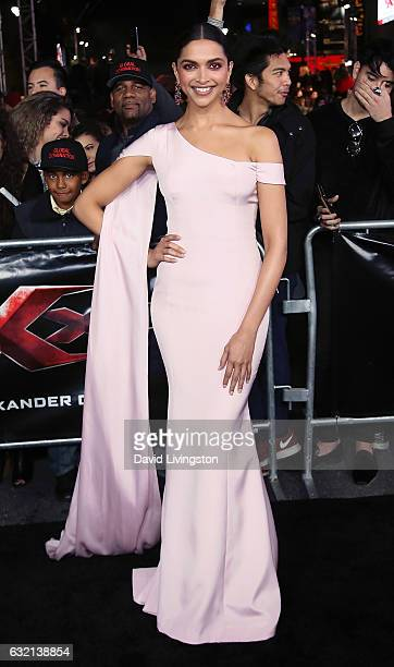 Actress Deepika Padukone attends the premiere of Paramount Pictures' xXx Return of Xander Cage at TCL Chinese Theatre IMAX on January 19 2017 in...