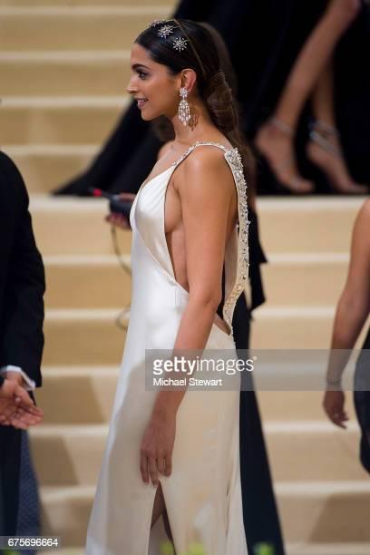 Actress Deepika Padukone attends the 'Rei Kawakubo/Comme des Garcons Art Of The InBetween' Costume Institute Gala at Metropolitan Museum of Art on...