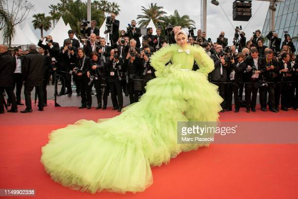 Actress Deepika Padukone attends the screening of Pain And Glory during the 72nd annual Cannes Film Festival on May 17 2019 in Cannes France