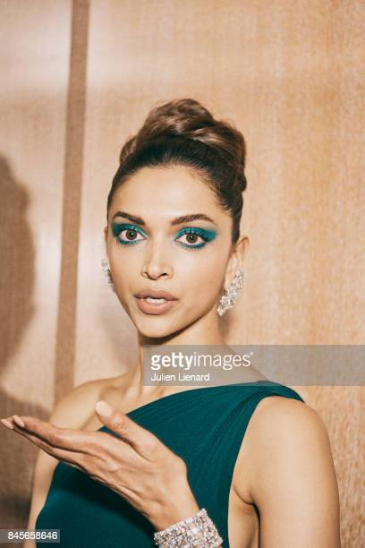 Actress Deepika Padukone is photographed for Self Assignment on May 18 2017 in Cannes France